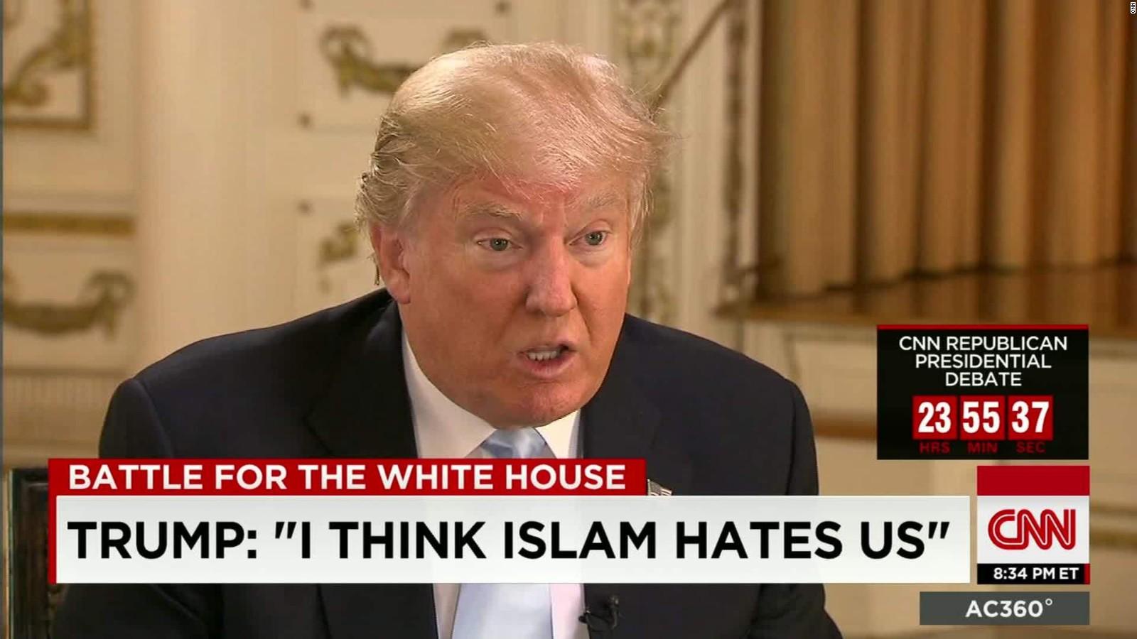 Image result for second debate, Trump radical islamic terrorism