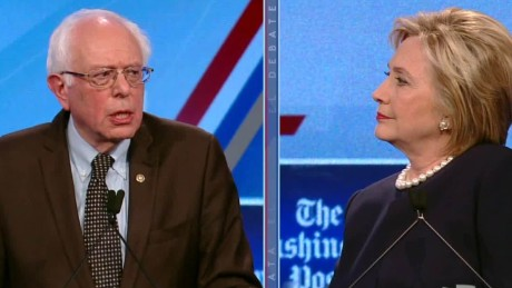 Clinton, Sanders asked about climate change deniers