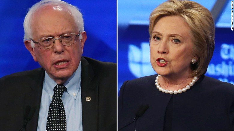 Columnist: Clinton can only attack Sanders from the left