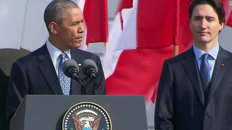 Canadian Prime Minister visits U.S.