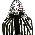 illustrated fashion week balmain