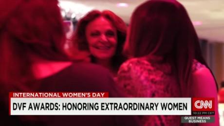 exp Quest Means Business Diane von Furstenberg International Women's Day _00002001