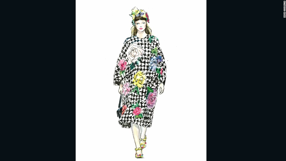 "Dolce & Gabbana by <a href=""https://www.instagram.com/nadiacoolrista/"" target=""_blank"">Nadia Coolrista</a>"