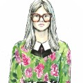 illustrated fashion week gucci