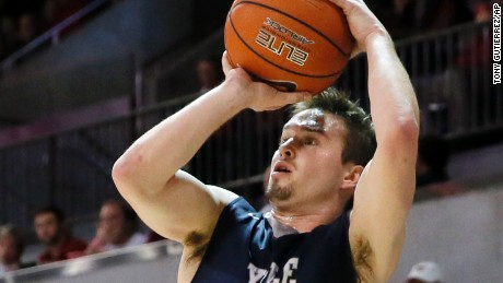 Senior captain Jack Montague is no longer on Yale's basketball team. The school has not disclosed why.
