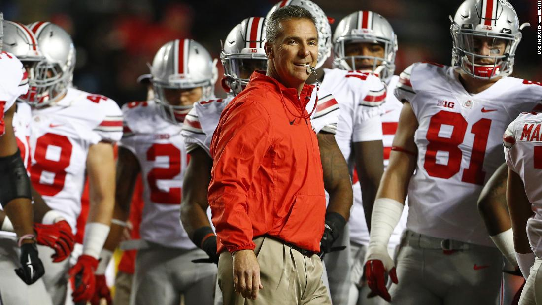Urban Meyer, head coach of the Ohio State Buckeyes and one of the most public figures in the state, has endorsed Ohio governor John Kasich.