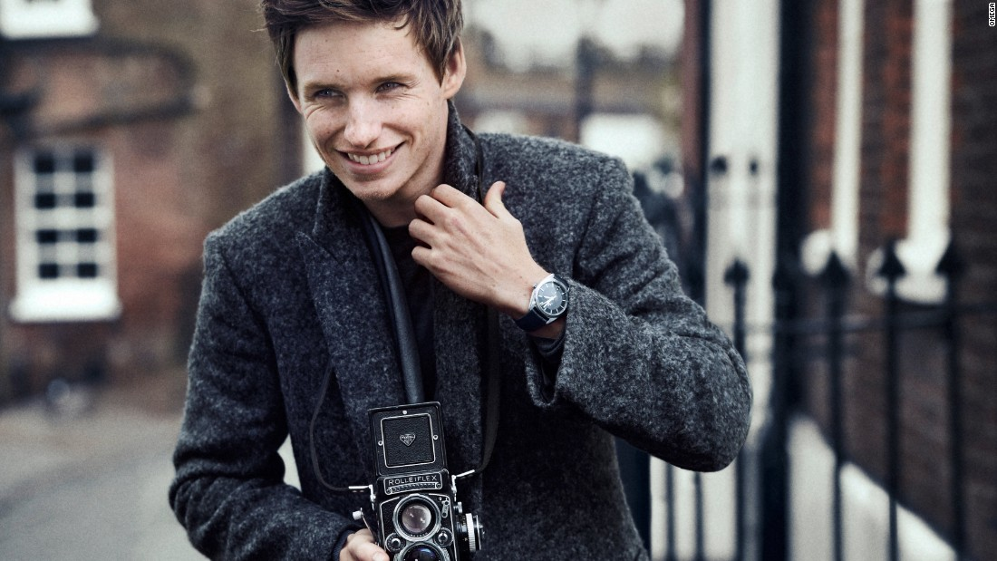 Actor Eddie Redmayne's recent Oscar nomination and subsequent boost in profile is just what the marketers at Omega are banking on.