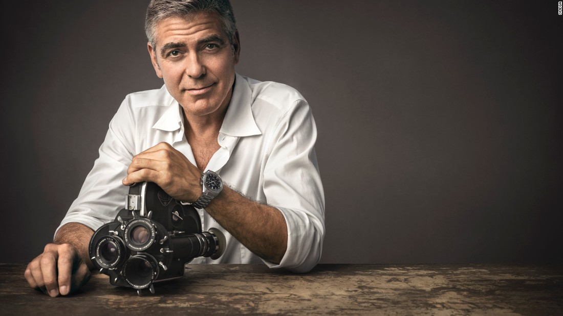 George Clooney has been a long-term ambassador for Omega, a company which has driven a policy of building strong celebrity relationships over years.