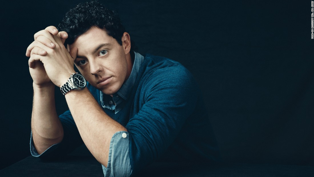 Since golf is the world's fastest growing spectator sport, Omega has been sharp in snapping up Rory McIlroy, one of its star players