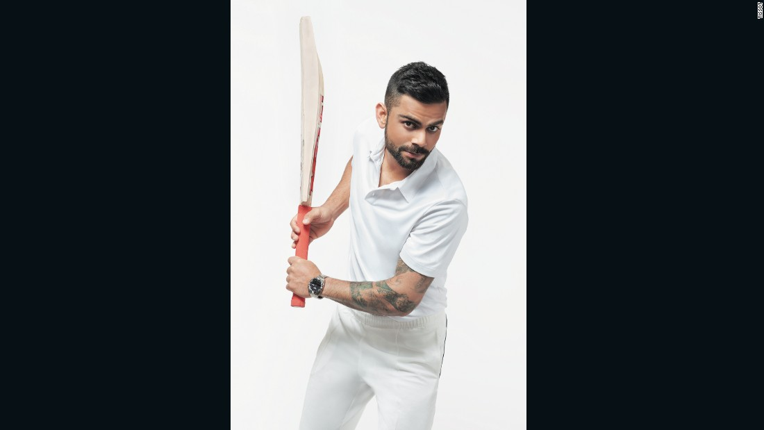 International cricketer Virat Kohli is the latest signing for Tissot.