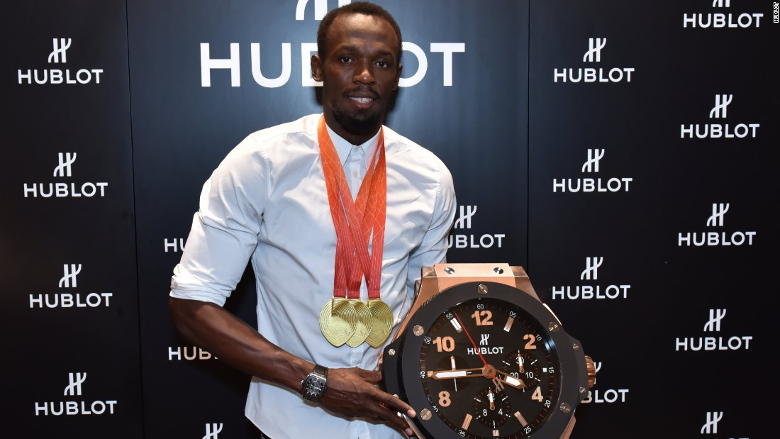Usain Bolt, the fastest man on earth, says he chose to work with Hublot precisely because the company has a policy of not giving its watches away to celebrities.