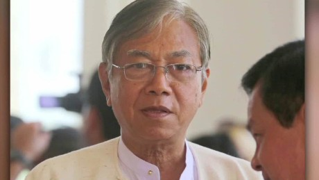 Htin Kyaw is the new President of Myanmar.
