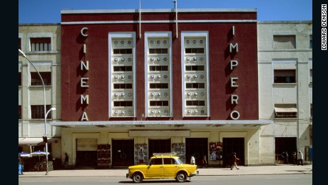 The Impero cinema.