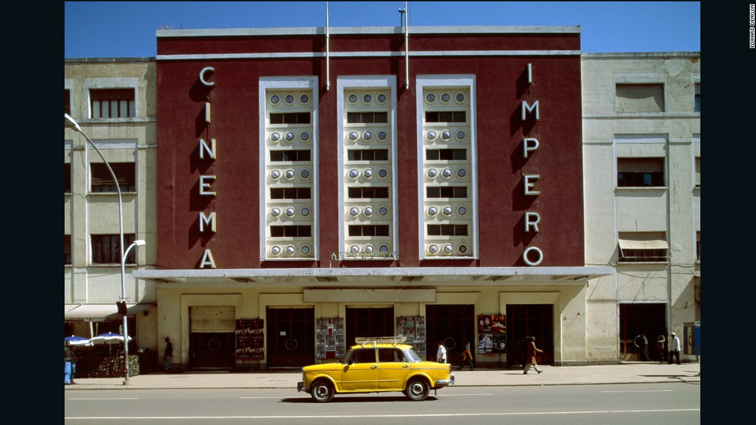 Asmara's architecture was influenced by an Italian movement known as Futurism. Prisons, cafes and cinemas, like The Impero Cinema, drew from the modernist ideas creating a unique architectural landscape. Eritreans are proud of this heritage. In 2001 the Cultural Assets Rehabilitation Project started to document the city's buildings.