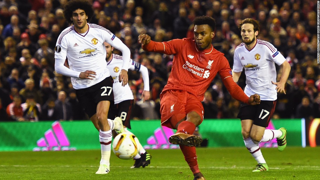 Daniel Sturridge opened the scoring with a coolly taken penalty after Liverpool right-back Nathaniel Clyne was fouled just inside the area.