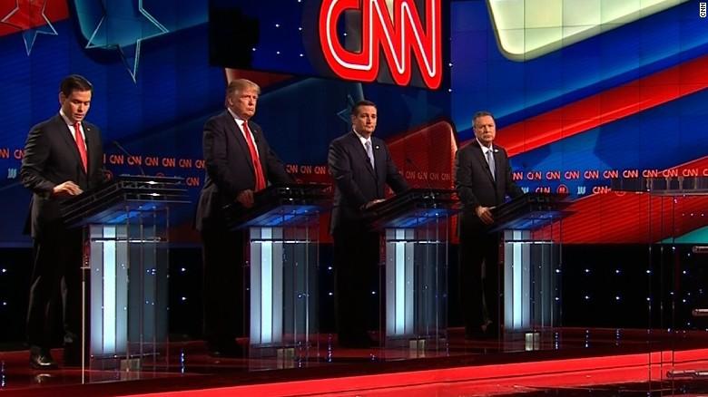 GOP debate in 90 Seconds