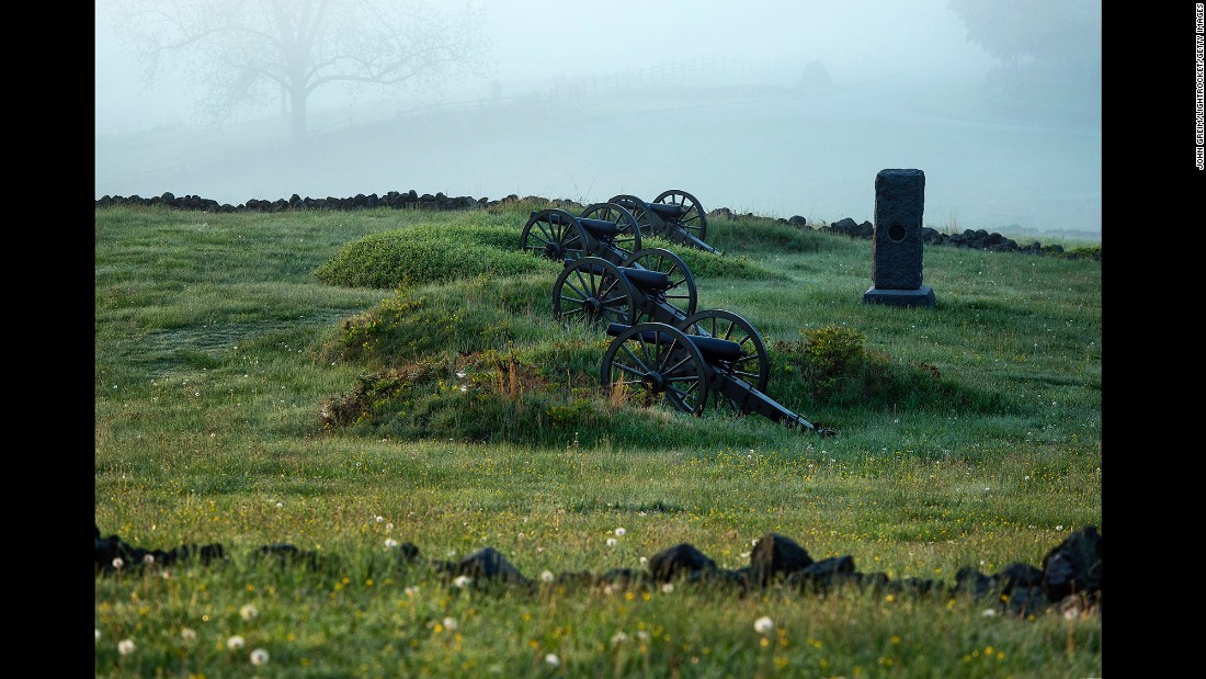 The War Department properties at Gettysburg joined the park service during that reorganization, but their history dates back to shortly after the Civil War.