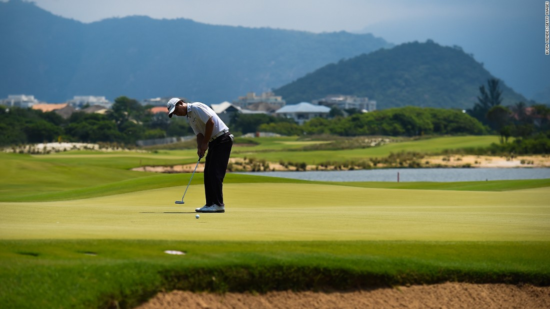 Rio's Olympic golf course is up and running after a test event ahead of next summer's Games was staged this week.