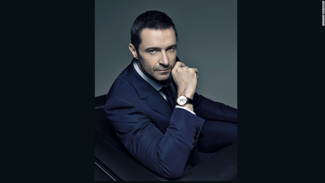 The fact that Hugh Jackman represented another watch brand has not dissuaded Montblanc from signing  the actor as their new frontman.