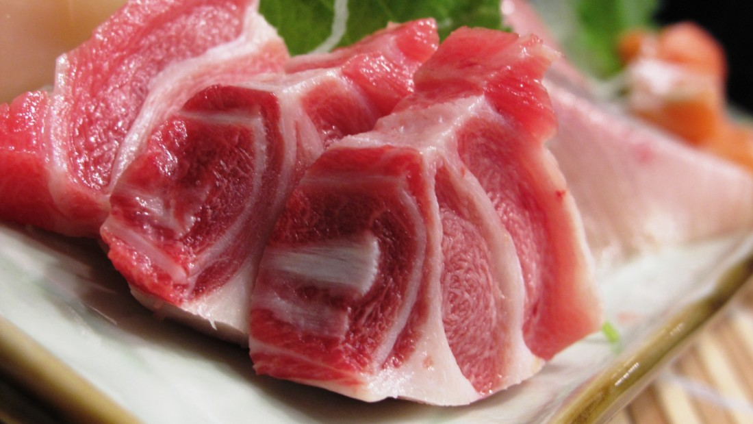 "Meii's sashimi is cut ""peasant"" style -- as in chunky."