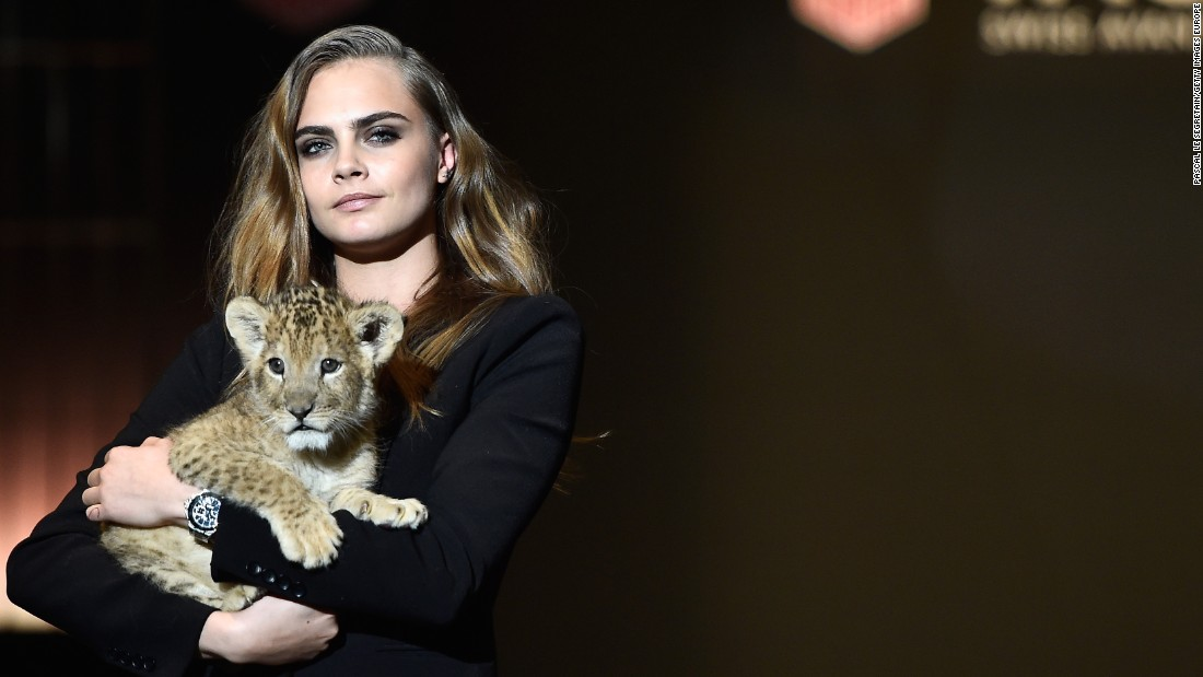 Model Cara Delevingne, one of Tag Heuer's latest ambassadors, was selected to help the brand reach a more youthful audience.