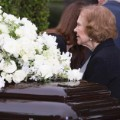 20 nancy reagan funeral - RESTRICTED