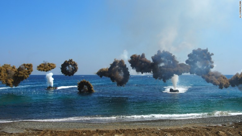 South Korea holds joint military drills with U.S.