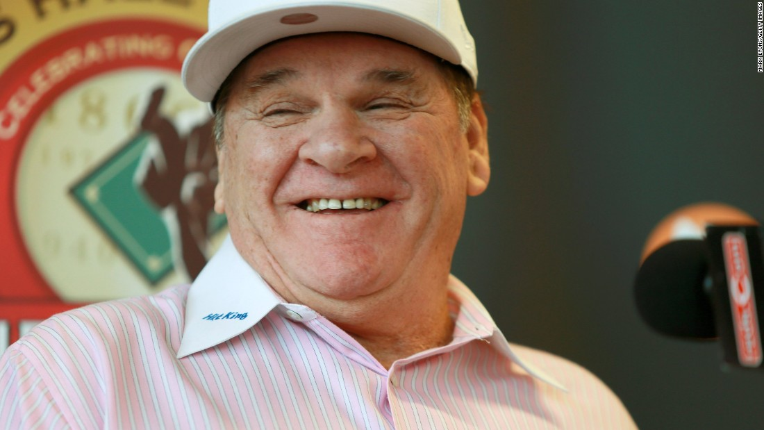 Pete Rose backs Donald Trump ahead of Ohio primary - CNNPolitics.com