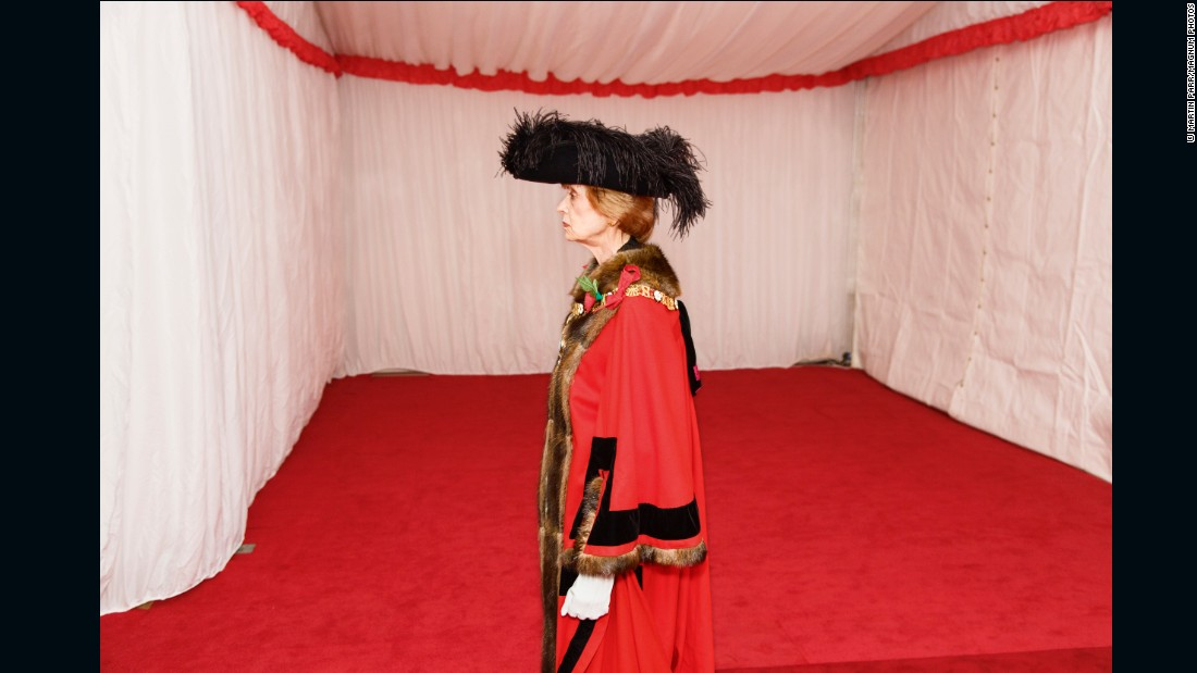 Silent Ceremony, swearing in of new Lord Mayor, Fiona Woolf, Guildhall, City of London, 2013