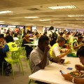 Singapore airport T2 canteen