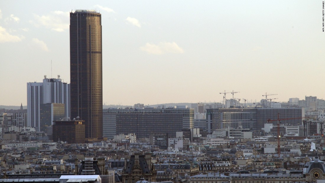 The monolithic Tour Montparnasse, an office skyscraper in the 15th arrondissement of Paris, is as imposing today as when it was completed in 1973. Six hundred and eighty nine feet tall, it was the highest building in the French capital until 2011.