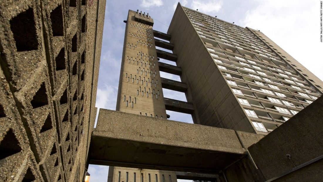 Taller than Trellick Tower but similar in design, Balfron Tower is 26 stories high and located in the London borough of Tower Hamlets. Also from the mind of Brutalist architect Erno Goldfinger, it was completed in 1967.