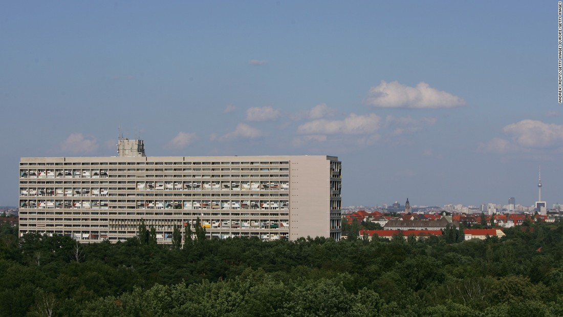 "Le Corbusier, the Modernist architect behind the ""Unite d'Habitation"", is responsible for a variety of large-scale apartment blocks across Europe, including the 527-apartment ""Typ Berlin""."