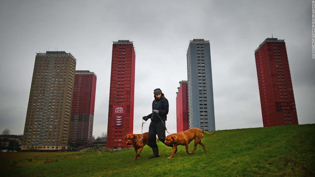 "Partly razed in 2014 in a mere 15 seconds, the Red Road Flats in Glasgow were torn down as part of the opening ceremony for that year's Commonwealth Games. Opening in 1971 at a cost of £6 million and designed by Sam Bunton & Associates, it featured in the BAFTA and Cannes-winning film ""Red Road"" (2006).<br /><br />"