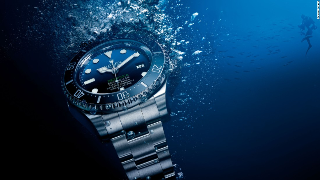 Rolex's Deepsea watches are tested in a tank that simulates pressure at 16,000 feet below sea level before they are released onto the market.