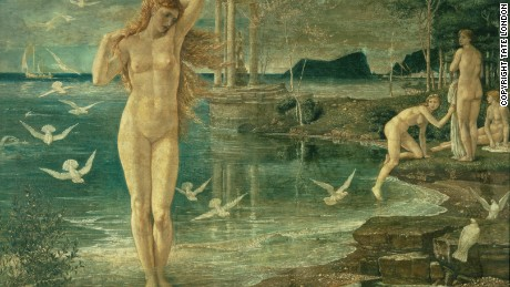 The Renaissance of Venus, 1877 by Walter Crane.