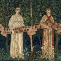 7. The Orchard, 1890 by William Morris, John Henry Dearle, Morris & Co. V&A London (c) Victoria and Albert Museum, London