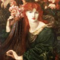 9. La Ghirlandata, 1873 by Dante Gabriel Rossetti (c) Guildhall Art Gallery 2015. Photo Scala Florence, Heritage Images