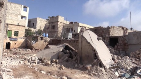 road to aleppo syria clarissa ward pkg _00001108