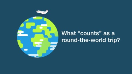 What 'counts' as a round-the-world trip?
