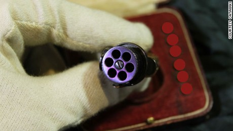 """The gun was sold in jewellery boxes to clearly mark it was for women,"" said Dilmen."