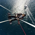Alex Thomson hanging sky