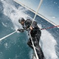 Alex Thomson skywalk kitesurf