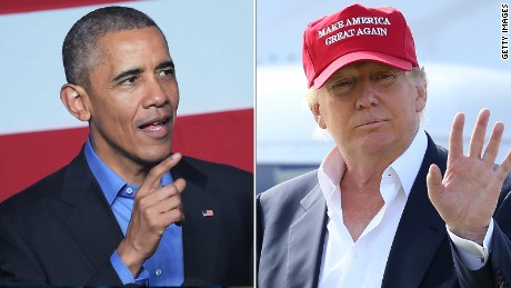 Trump should clarify comments about Obama and terrorism
