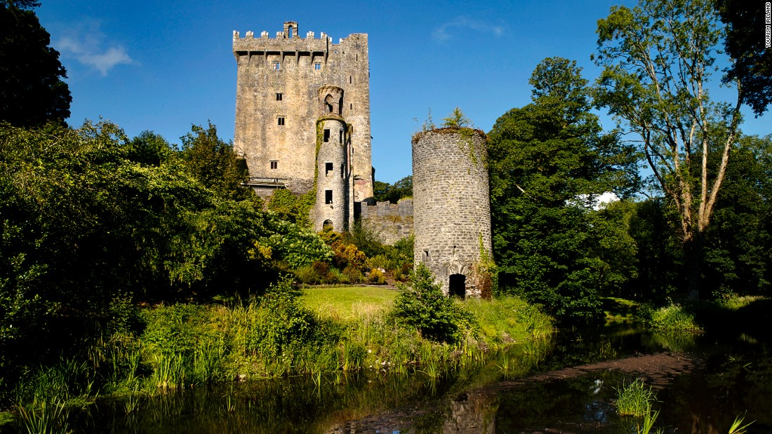 Blarney Castle -- and the famous Blarney Stone inside it -- are so pretty it's no wonder people have been coming for centuries to kiss it.