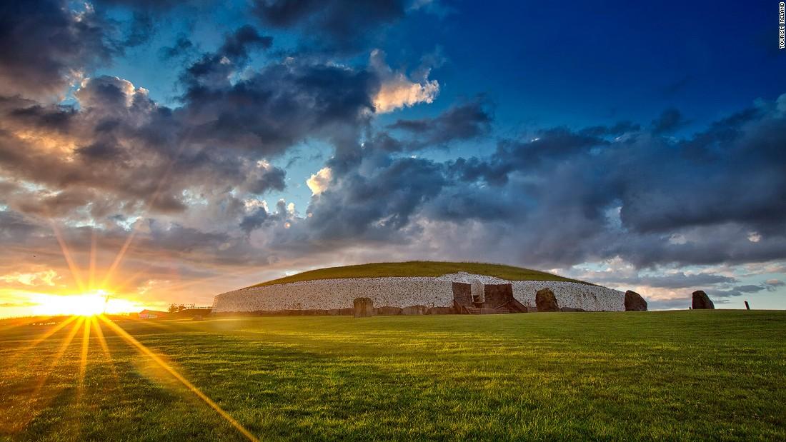 This 5,000-year-old tomb is older than the Egyptian pyramids and is an astonishing feat of Neolithic engineering. It's aligned with the rising sun and on the winter solstice its innermost chamber is filled with light. Tickets for the annual event are only available by lottery.