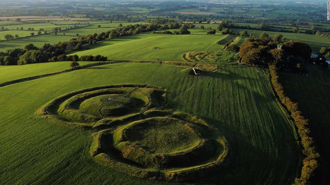 "The Hill of Tara is the ancient seat of the High Kings of Ireland and has been in use since the Neolithic era. Margaret Mitchell borrowed some of Tara's resonance when she gave its name to Scarlett O'Hara's beloved homestead in ""Gone With the Wind."""