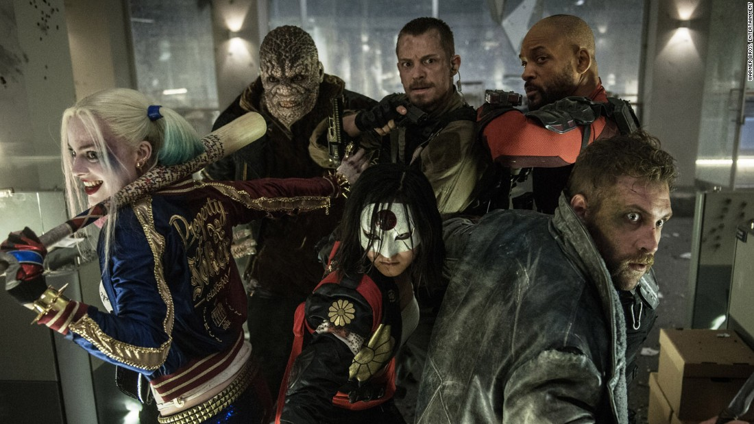 "If good superheroes can get together -- as in ""Batman v Superman"" and the ""Avengers"" films -- then what about bad guys? ""Suicide Squad"" puts together the Joker (Jared Leto), Harley Quinn (Margot Robbie) and Deadshot (Will Smith), among others, to take on missions others won't dare. Opens August 5."