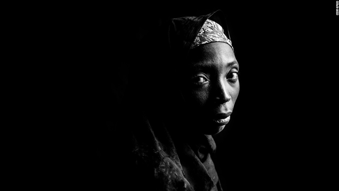 Amina Adamu spent four months as a prisoner until she escaped.
