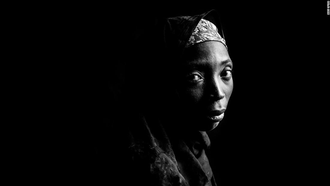 Amina Adamu spent four months as a prisoner until she escaped.